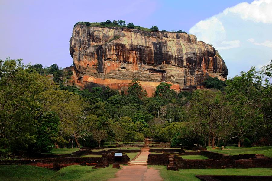 Nature Photograph - Sigiriya Fortress by Sanjeewa Marasinghe
