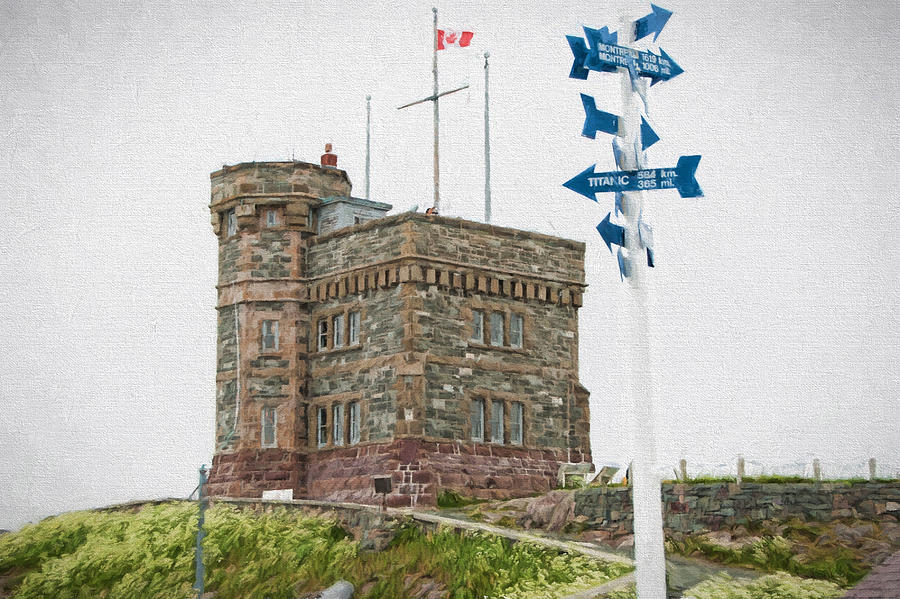 Atlantic Photograph - Cabot Tower by Boss Photographic