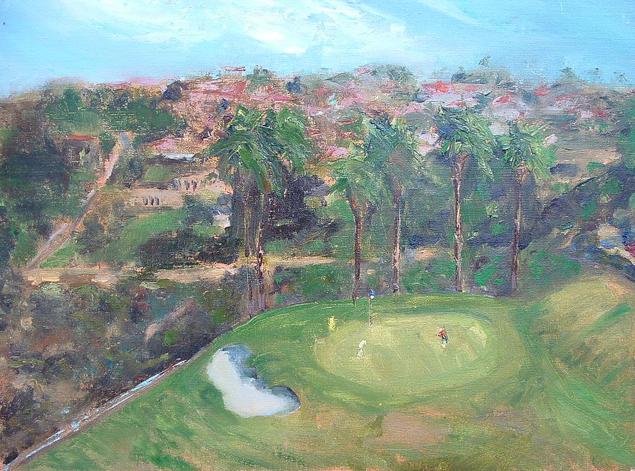 Signature Hole Painting by Bryan Alexander