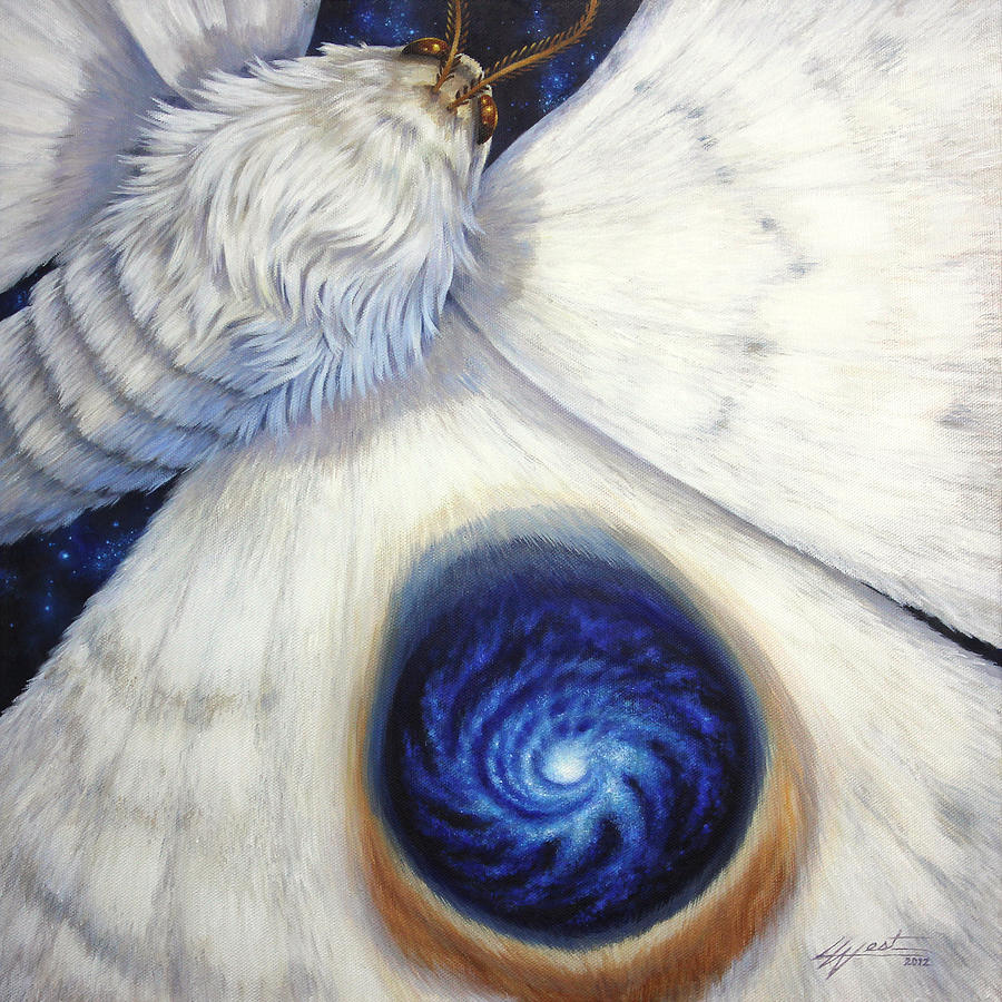 Signature Of The Universe Painting - Signature Of The Universe by Lucy West