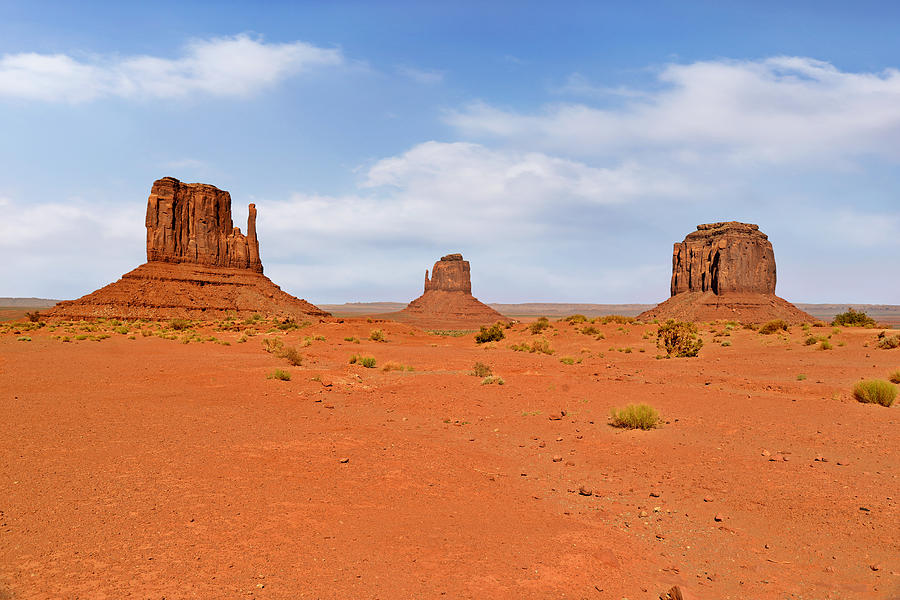 East Photograph - Signatures Of Monument Valley by Christine Till
