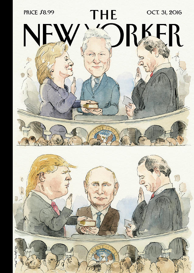 Significant Others Painting by Barry Blitt