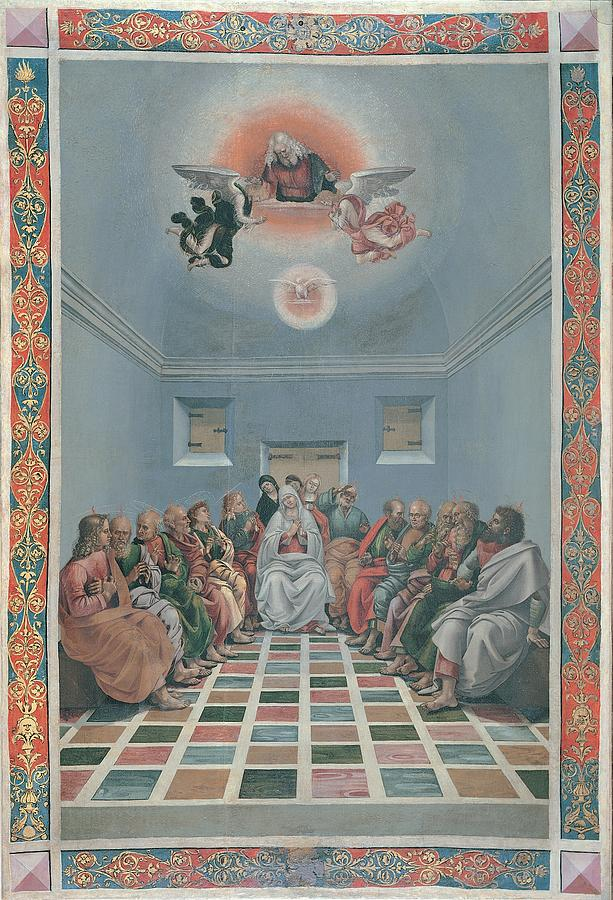 Pentecost Photograph - Signorelli Luca, Standard Crucifixion by Everett