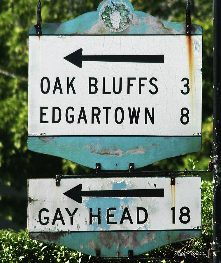 Signs Of Simpler Times Marthas Vineyard Massachusetts