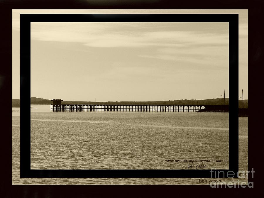 Bridge Photograph - Silance Bridge by Ben Yassa