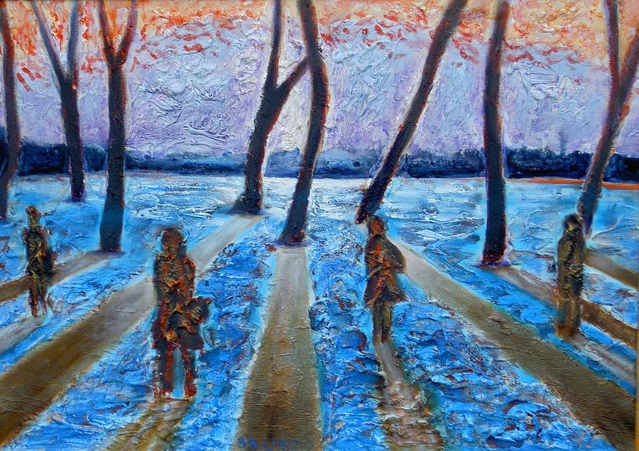 Silence Painting by Bonifacio Sulprizio