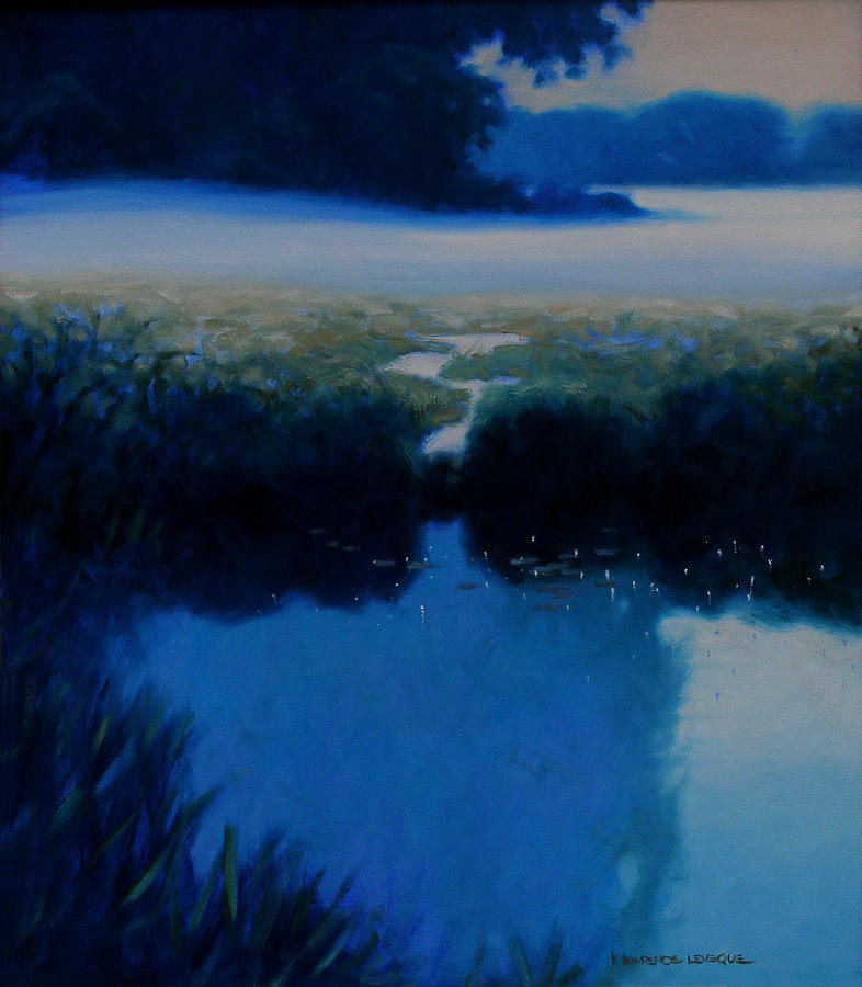 Landscape Painting - Silence by Kevin Lawrence Leveque