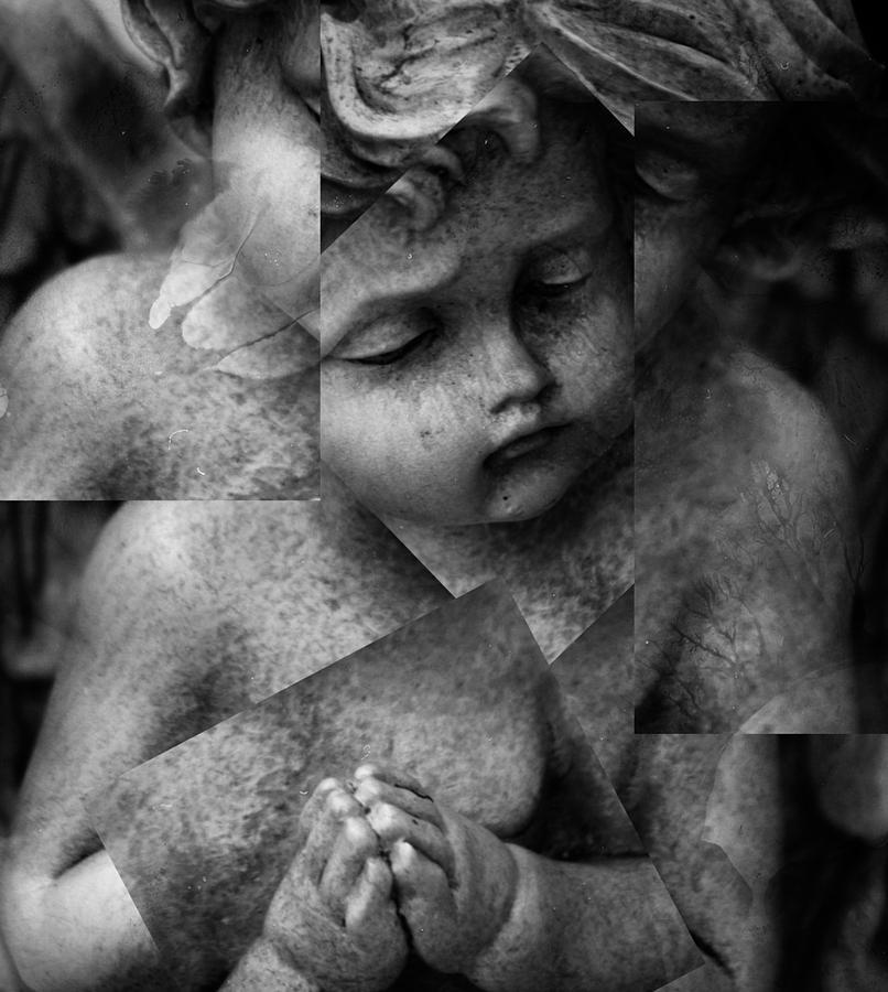 Seraphim Photograph - Silence Of A Seraphim  by Jerry Cordeiro