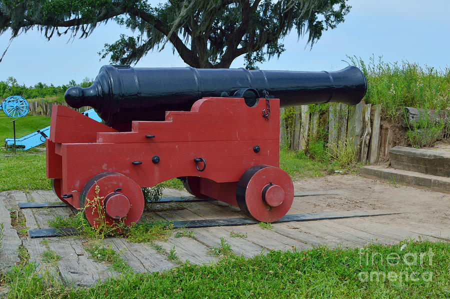 Battle Of New Orleans Photograph - Silent Cannon by Alys Caviness-Gober
