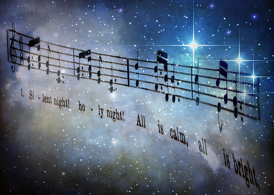 Silent Night Holy Night Digital Art by David and Carol Kelly