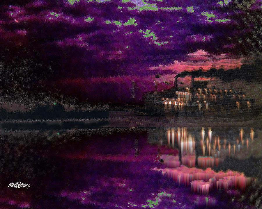 Silent River Digital Art - Silent River by Seth Weaver