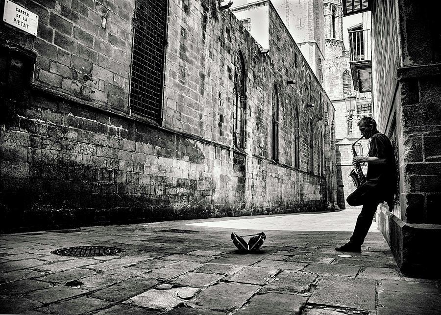 Barcelona Photograph - Silent Street by Gertjan Van Geerenstein