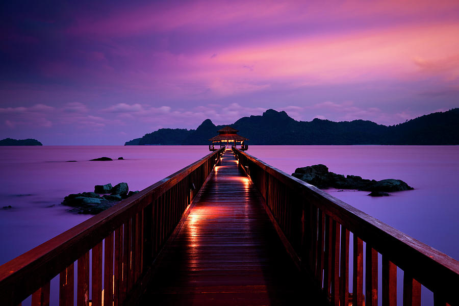 Silent Sunset In Pulau Langkawi Photograph by 35007