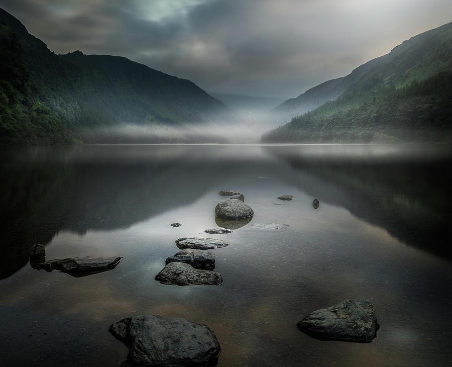 Zen Photograph - Silent Valley by David Ahern