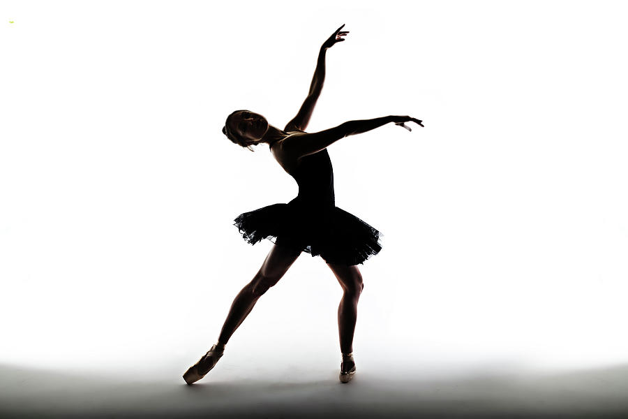 Silhouette Of Ballet Dancer Photograph by Phil Payne Photography