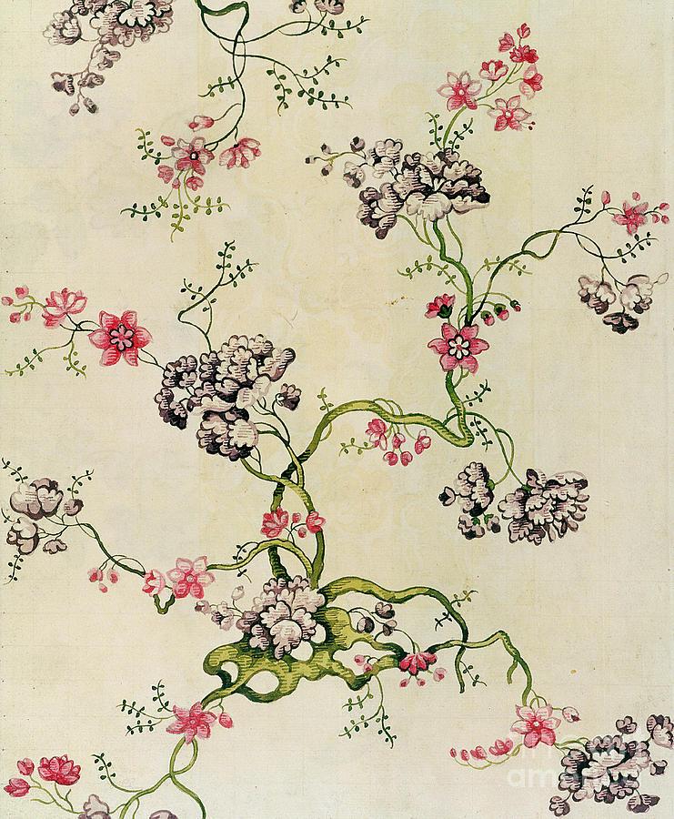 Pattern Tapestry - Textile - Silk Design by Anna Maria Garthwaite