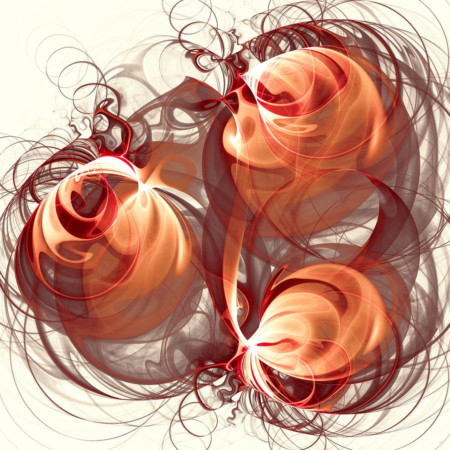 Interior Digital Art - Silk Labyrinth by Anastasiya Malakhova