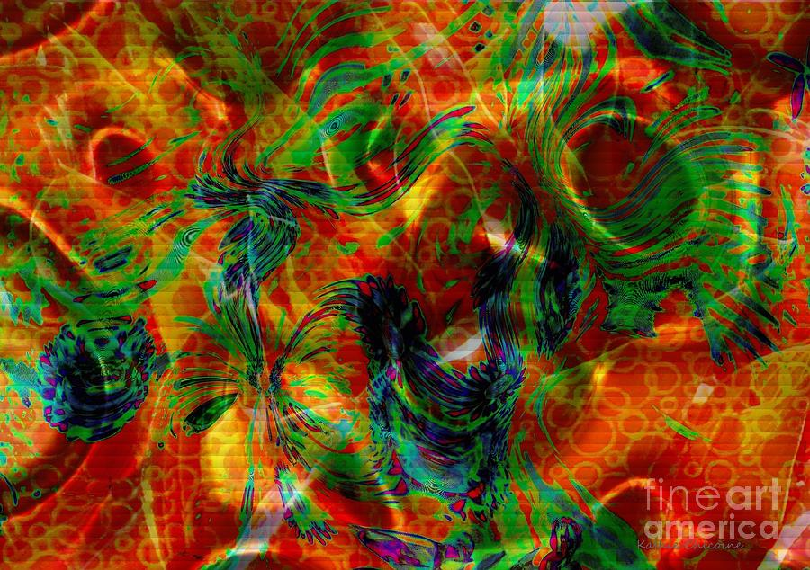 Abstract Photograph - Silken by Kathie Chicoine