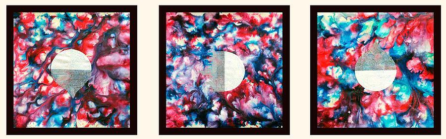 Abstract Painting - Silkworm by Sumit Mehndiratta