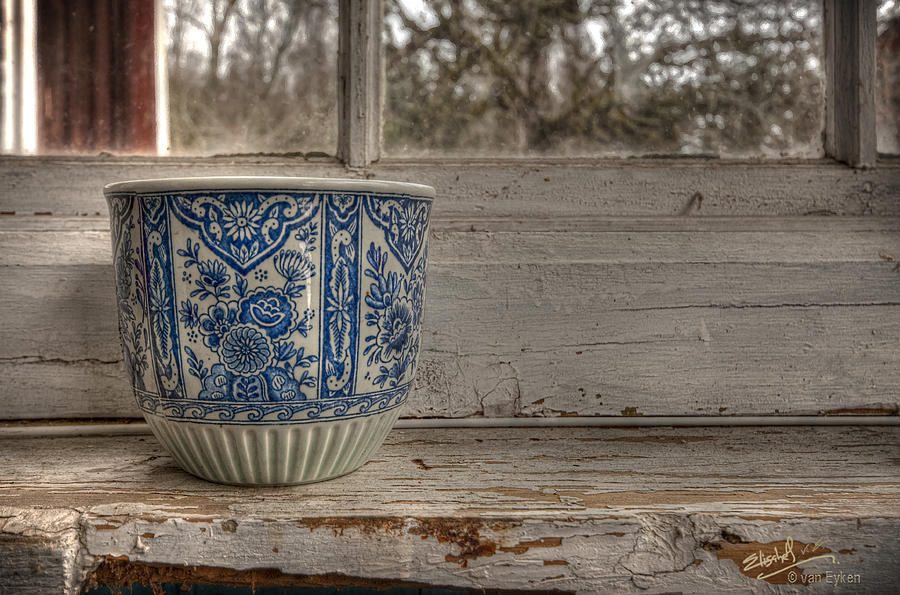 Ceramic Photograph - Sill Life by Elisabeth Van Eyken