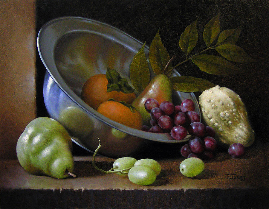 Silver Painting - Silver Bowl by Timothy Jones