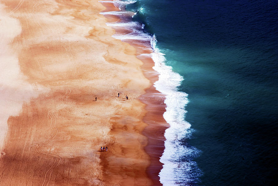 Nazare Photograph - Silver Coast by Cbomersphotography