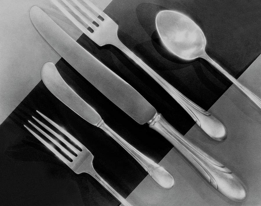 Silver Cutlery By Symphony By Towle Photograph by Martinus Andersen