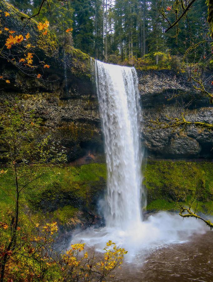 Silver Falls - South Falls Photograph