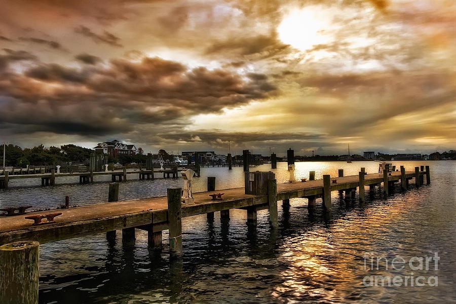North Carolina Photograph - Silver Lake Harbor by Dan Carmichael