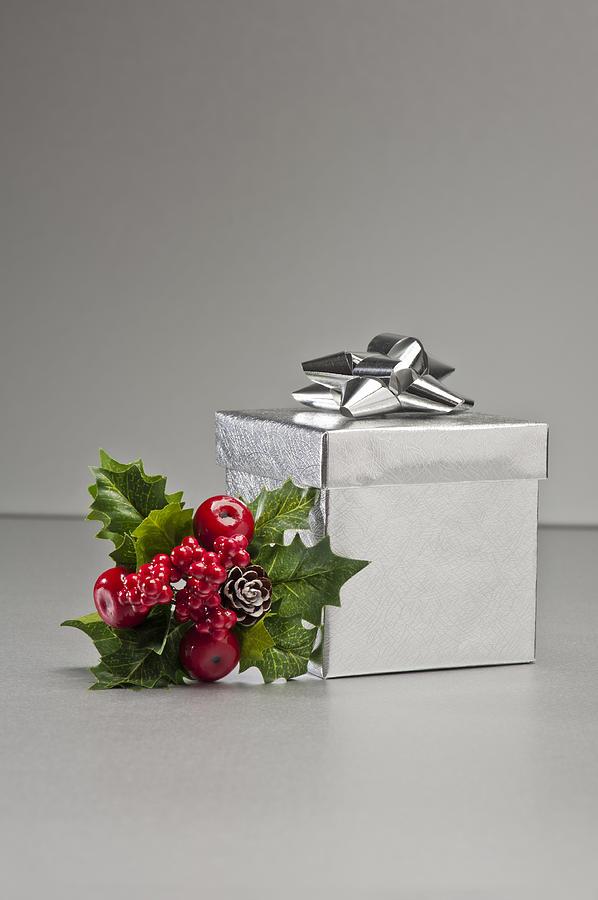 New Photograph - Silver Present by U Schade