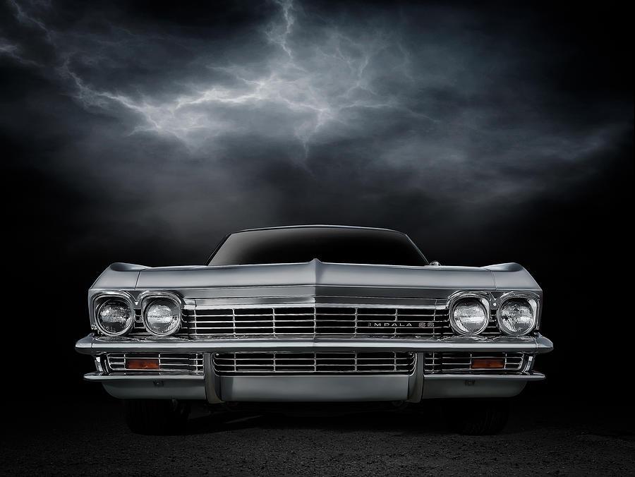 Car Digital Art - Silver Sixty Five by Douglas Pittman
