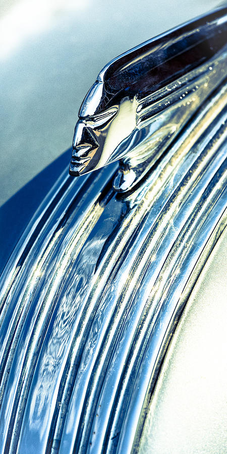Pontiac Photograph - Profile In Chrome II by Caitlyn  Grasso