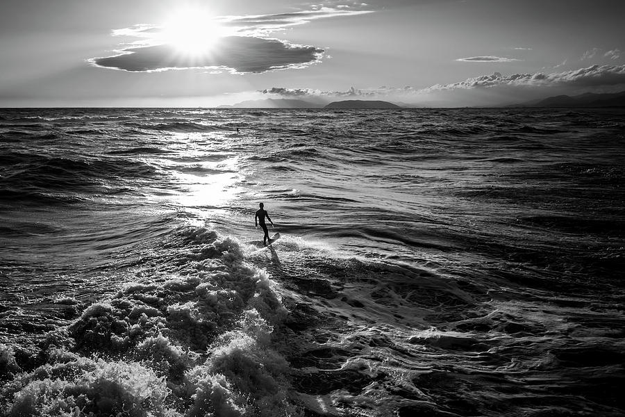 Summer Photograph - Silver Surfer IIi by Lorenzo Bianchini
