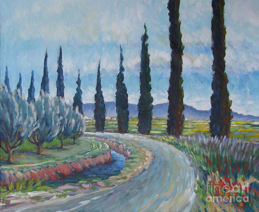 Vanessa Hadady Bfa Ma Painting - Silvery Afternoon by Vanessa Hadady BFA MA