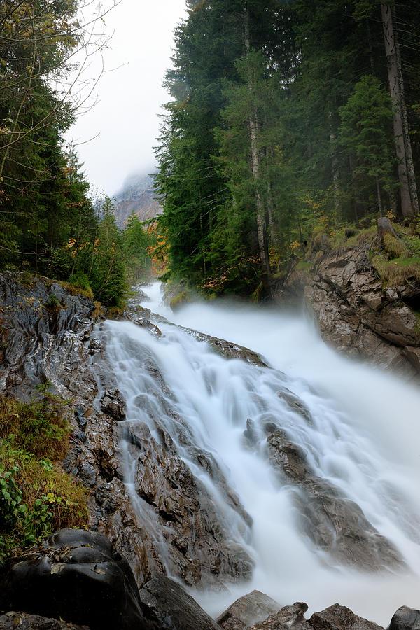 Simmenfalle Waterfall Photograph by Pidjoe