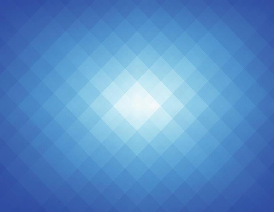 Simple Blue Pixels Background Digital Art by Simon2579