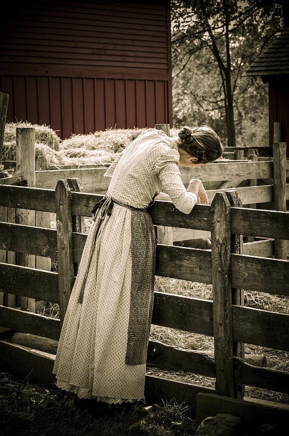 Vintage Photograph - Simple Life 5 by Julie Palencia
