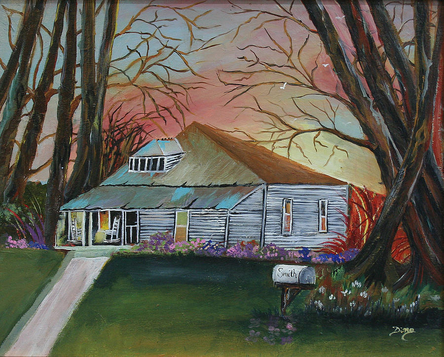 Landscape Painting - Simple Living by Dina Jacobs