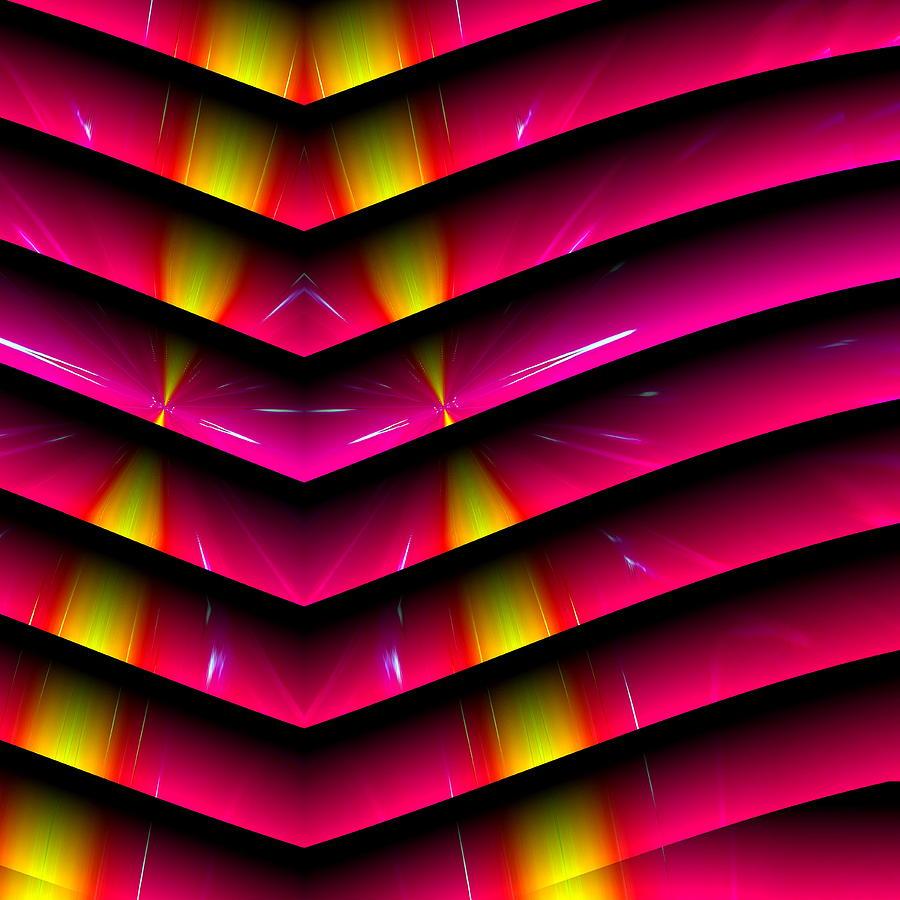 Abstract Digital Art - Simple Math by Visual Artist  Frank Bonilla