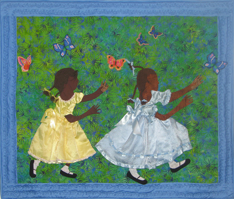 Children Playing Tapestry - Textile - Simple Play by Aisha Lumumba