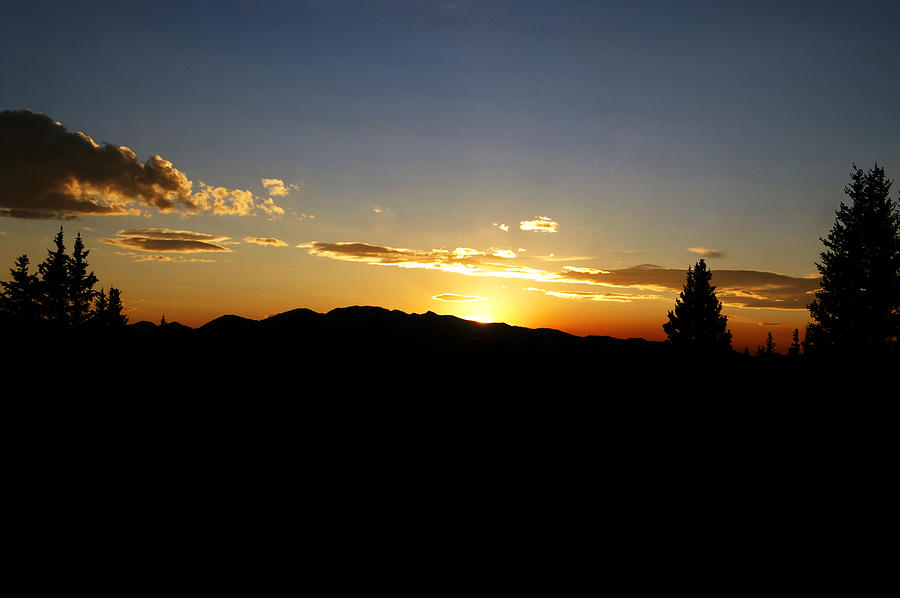 Colorado Photograph - Simple Sunset by Jeremy Rhoades