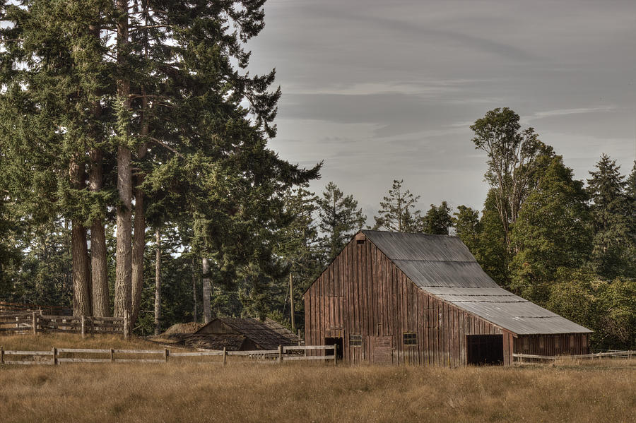 Barn Photograph - Simpler Times 2 by Randy Hall