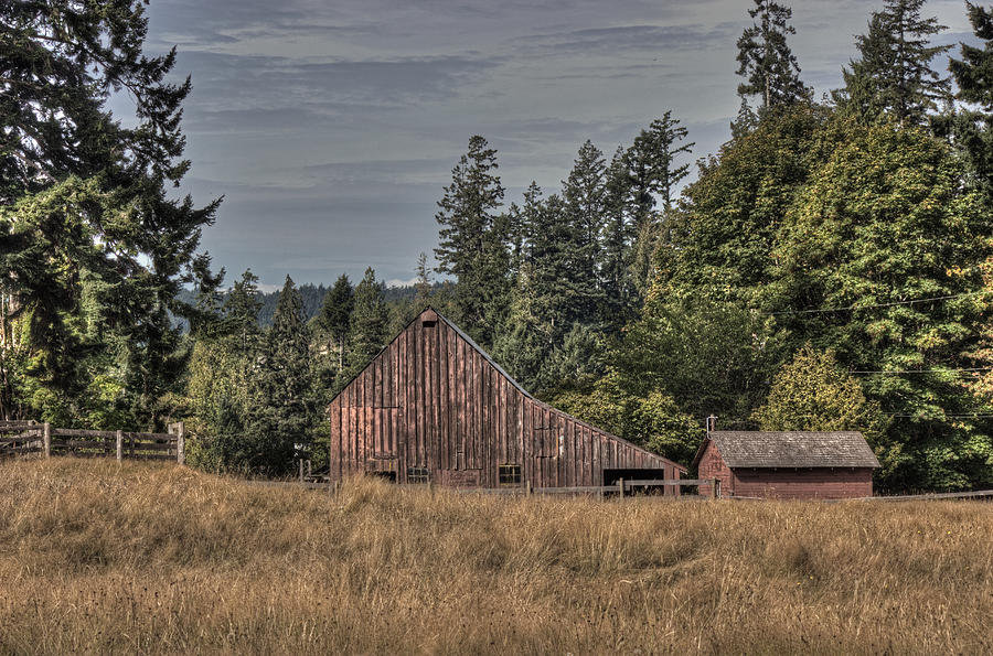 Barn Photograph - Simpler Times by Randy Hall