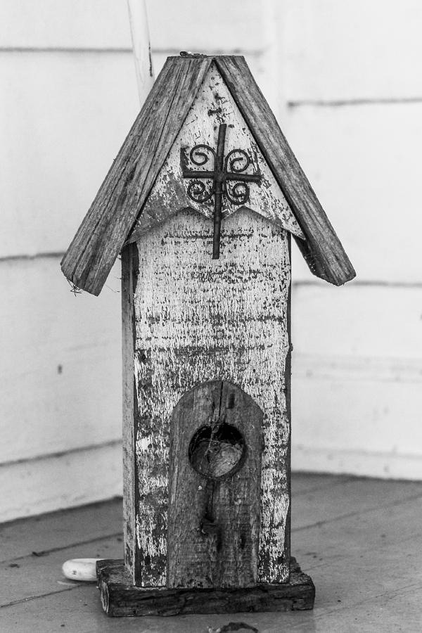 Bird House Photograph - Simplicity At Its Best by Hannah Miller