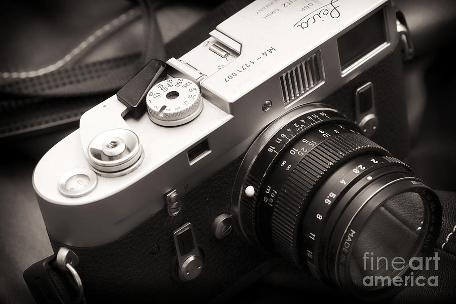 Leica M4 Photograph - Simplicity At Its Finest by John Rizzuto