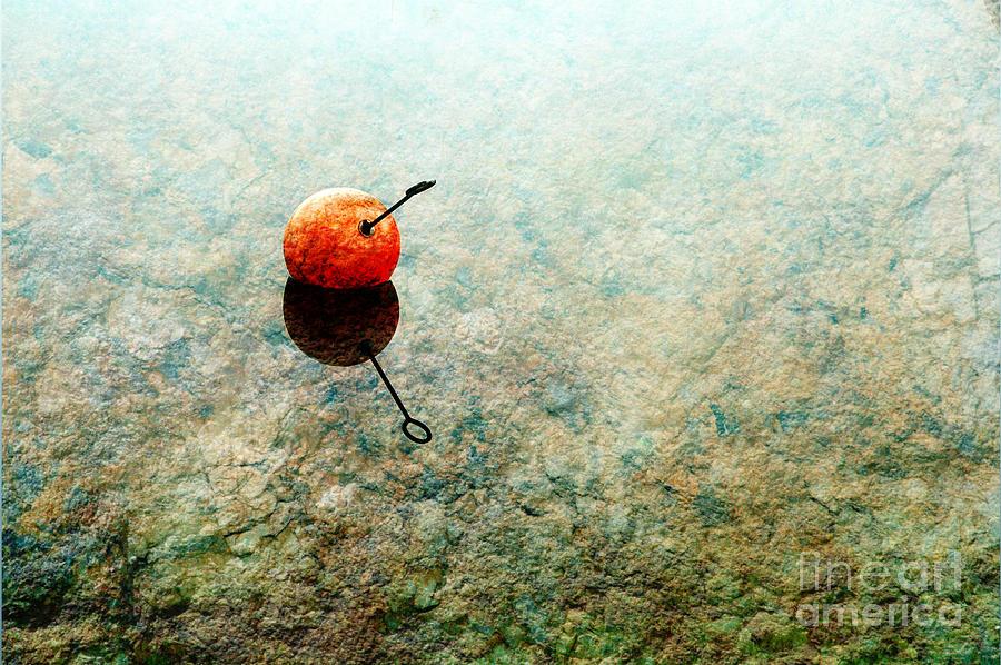 Buoy Photograph - Simplicity by Randi Grace Nilsberg