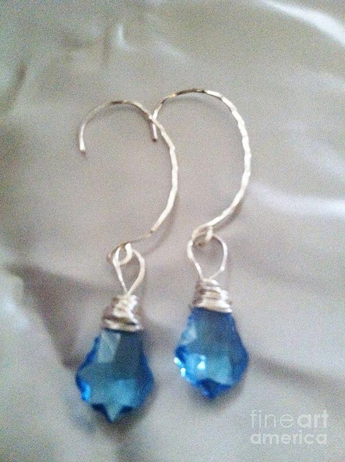 Earrings Jewelry - Simply Blue by Tina Beal