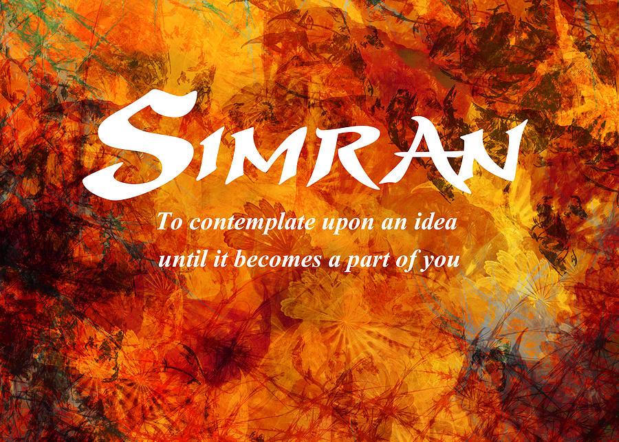 Simran by Christopher Gaston