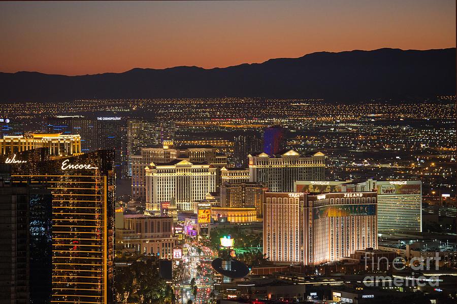 Las Vegas Photograph - Sin City by Shishir Sathe