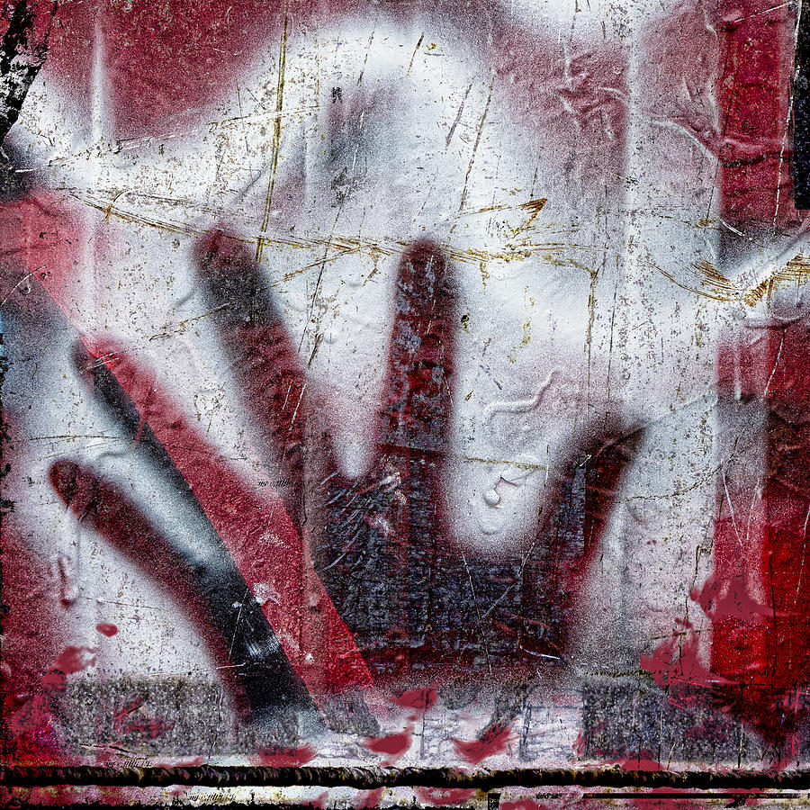 Graffiti Photograph - Sine Of The Wave by Carol Leigh